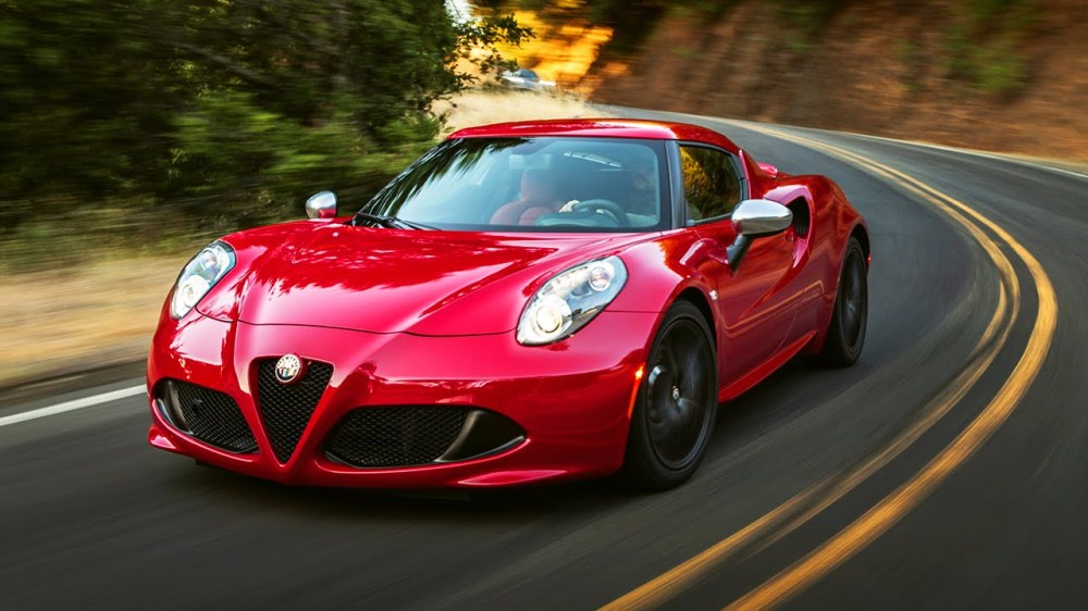 The Alpha Romeo 4C coupe has seen decent sales since it's U.S. debut.