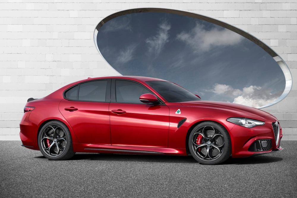 The all-new Giulia Quadrifoglio, set to go on sale in the U.S. in early 2016.