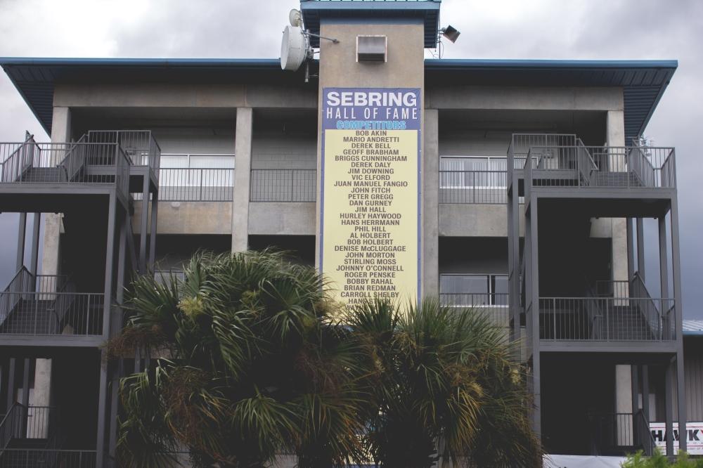 The main tower of Sebring International Raceway, located in Sebring, Florida.